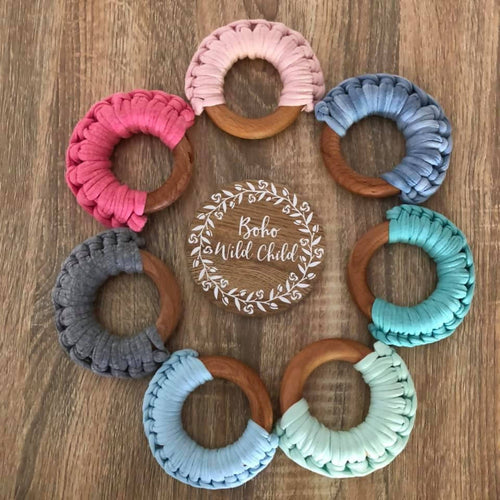 Jersey Ring Teether
