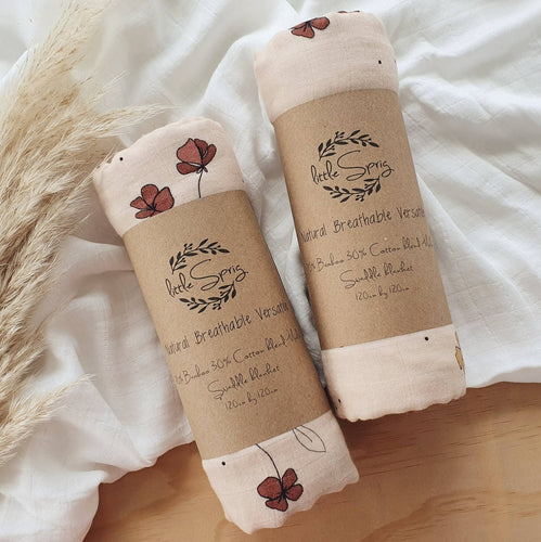 Autumn Posy Swaddle