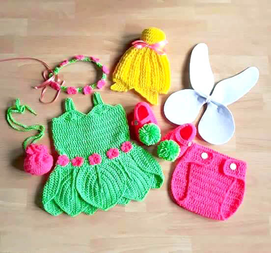 Crochet Baby Hand Made Dress At Best Price In Pakistan Salemarkaz