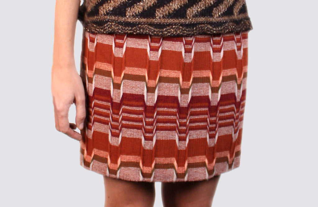 Missoni Skirt in Burgandy