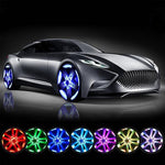 Hot selling!!!Magnetic Suspension LED Floating Wheel Cap