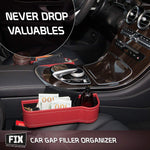 Car Seat Gap Filler(Two packs)