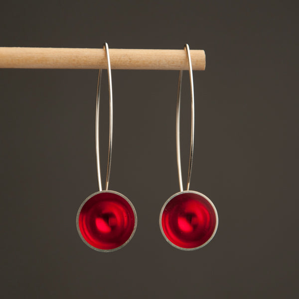 Long Circle Earring