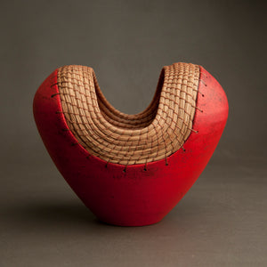 Small Heart Vessel in Red