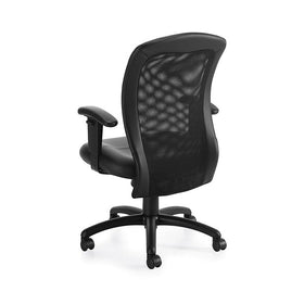 Staples Black Mesh Manager Chair