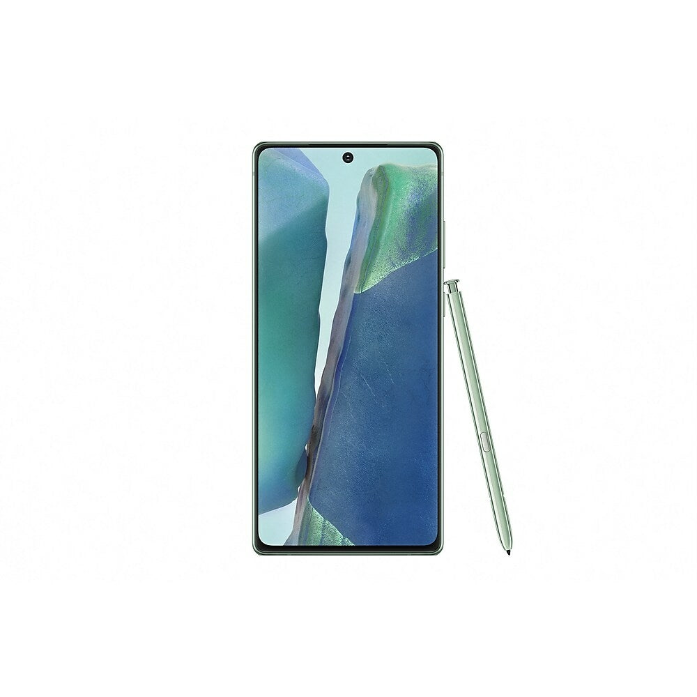 Image of Samsung Galaxy Note20 5G 6.7-inch Unlocked Cell Phone, 128 GB, Mystic Green