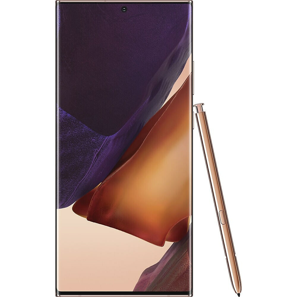 Image of Samsung Galaxy Note20 Ultra 5G 6.9-inch Unlocked Cell Phone, 128 GB, Mystic Bronze