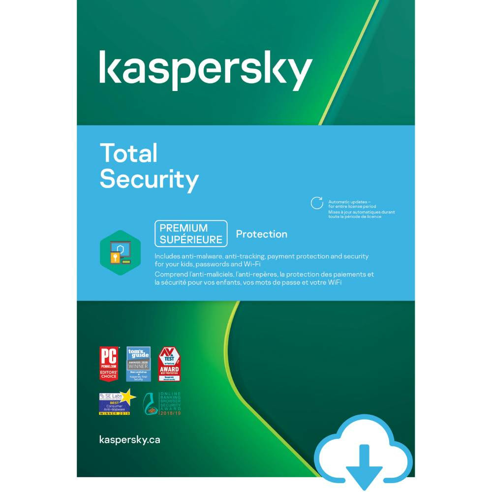 Kaspersky Total Security 5 Devices Download Staples Ca