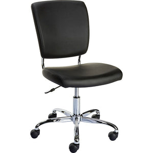 Staples Nadler Luxura Armless Office Chair, Black
