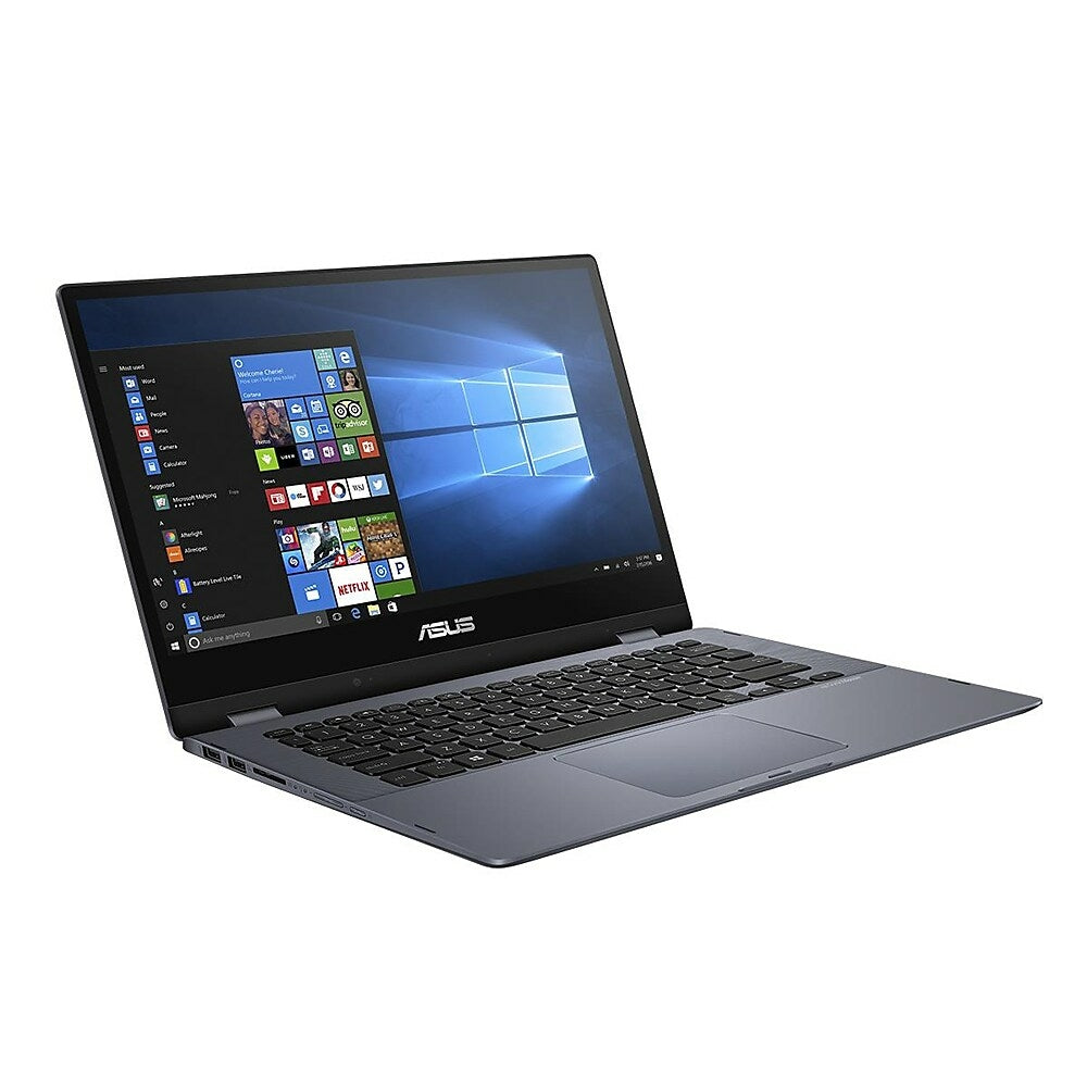 Image of ASUS Vivobook Flip 14 TP412UA-BH51-CB 14-inch Touch Screen 2-in-1, 1.6 GHz Intel Core i5-8250U, 256 GB SSD, 8 GB DDR4