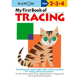 Kumon Publishing Kid's Educational Workbooks - My First Book Of Tracing - Grade Preschool JK - SK