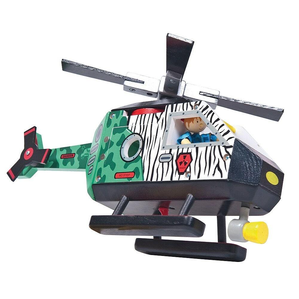 Image of LE TOY VAN HELICOPTER RESCUE SET