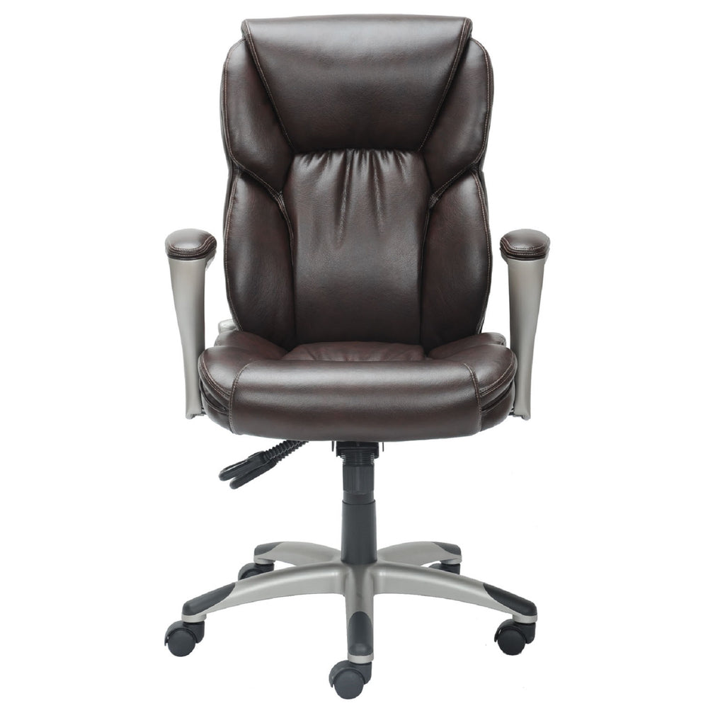 Serta High Back Manager S Chair Brown Staples Ca
