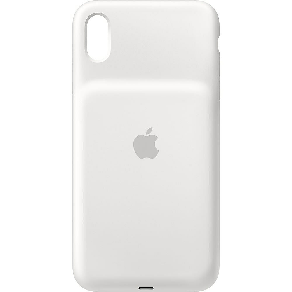 Apple iPhone XS Max Smart Battery Case, White   staples.ca