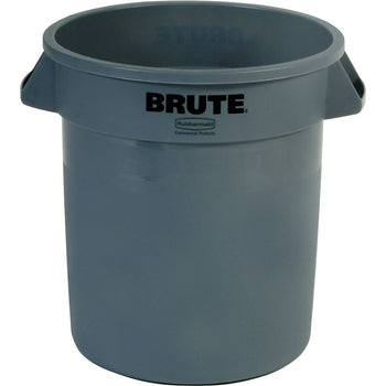 Image of Round Brute Containers, Grey, 3 Pack