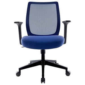 Union & Scale Essentials Mesh Back Fabric Task Chair - Blue