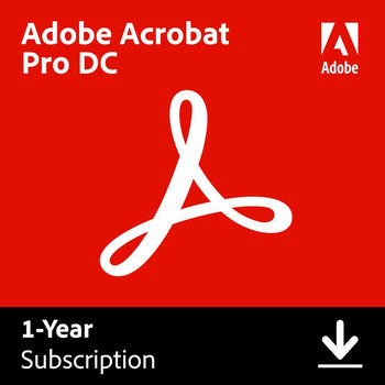 Adobe Acrobat Professional Dc 1 Year Subscription Download Staples Ca