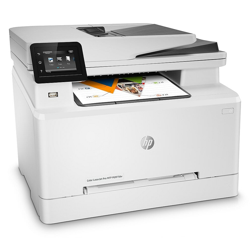 Hp Laserjet Pro M281fdw All In One Colour Laser Printer Www Staples Ca