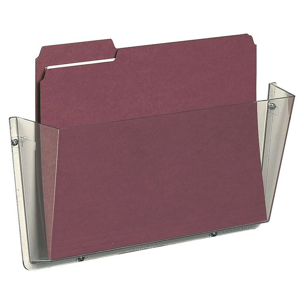 Deflecto Unbreakable Wall File Letter Size Staples Ca