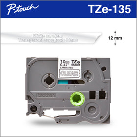 5 Pack labelife Replace TZ Tape 12mm 0.47 Laminated Clear Label Tape Cartridge TZe 131 TZ-131 TZe-131 Compatible for Brother P-Touch Label Makers 0.47 Inch Width x 26.2 Feet Length