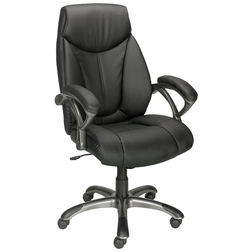 Staples Bonded Leather High Back Manager S Chair Staples Ca