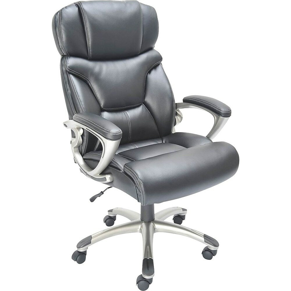 Staples Bonded Leather Executive Chair Black 9559 Staples Ca