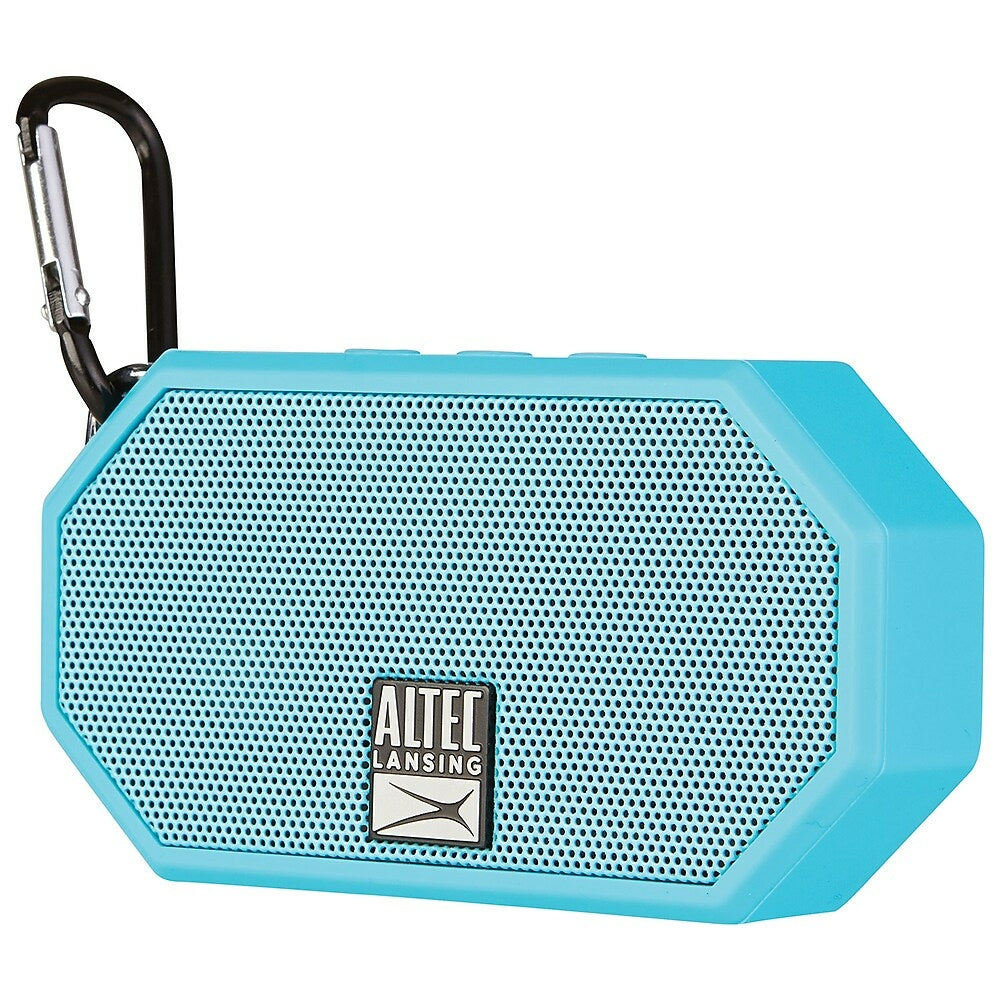 Altec Lansing iMW10 Mini H10O Wireless Bluetooth Speaker, Blue  (IMW10-AB-FR)