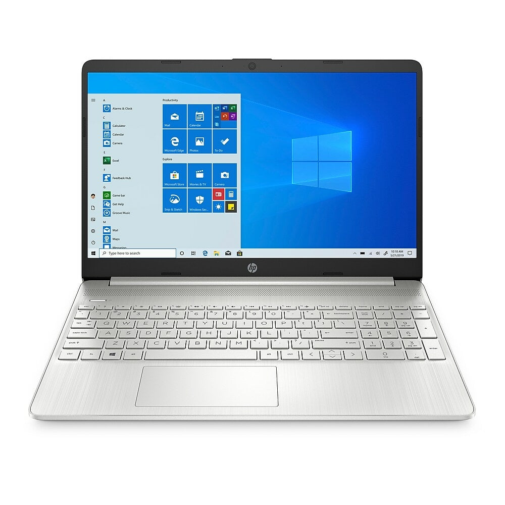 Hp 15 Ef1027ca 15 6 Inch Notebook 2 6 Ghz Amd Ryzen 3 3250u 512 Gb S Www Staples Ca