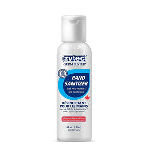 Zytec Germ Buster 70% Ethyl Alcohol Gel Hand Sanitizer - 60mL