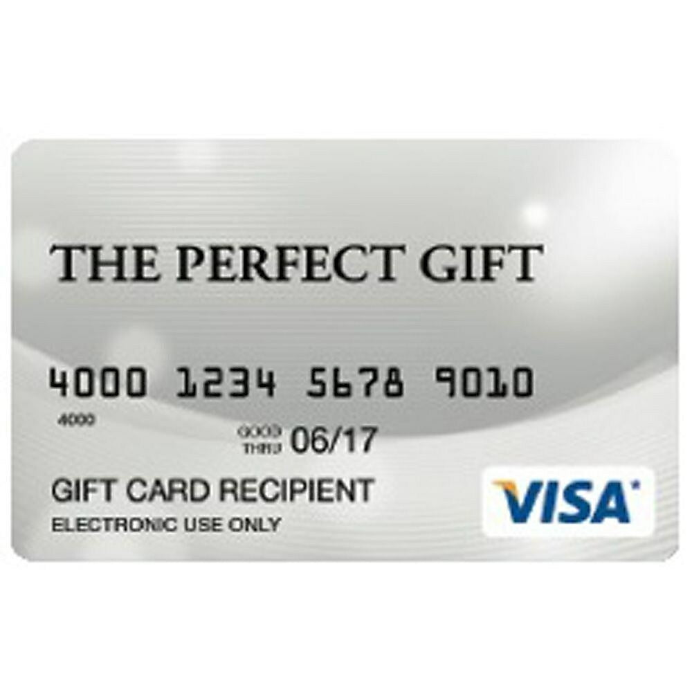 Prepaid Visa French $10 Gift Card (Quebec Only) staples.ca
