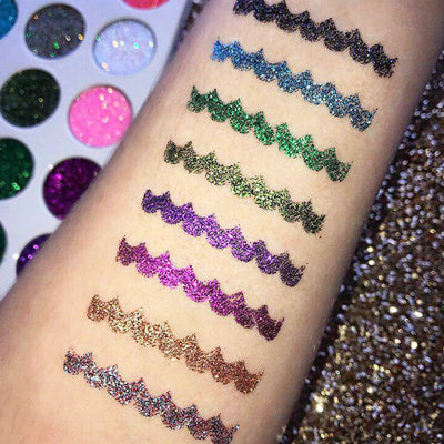 Professional Makeup Mermaid Glitter Eyeshadow Pallete