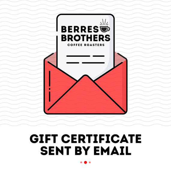 Gift Certificate Sent by Email