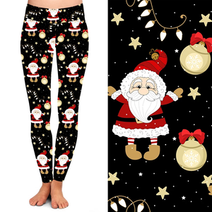 Christmas Decorations Legging