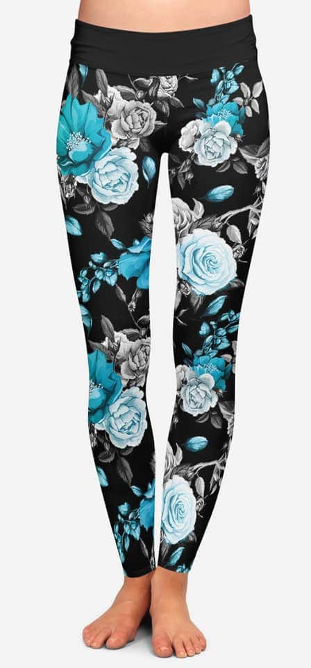 Floral Fixation Leggings
