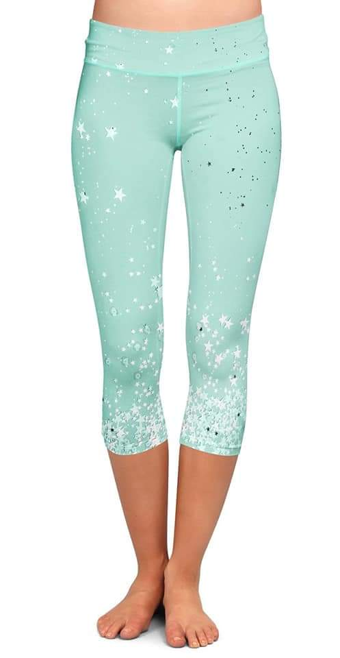 Plus Size Capris Leggings