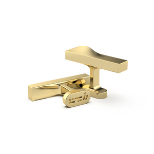 Open image in slideshow, Ramly Cufflinks - Gold Plated