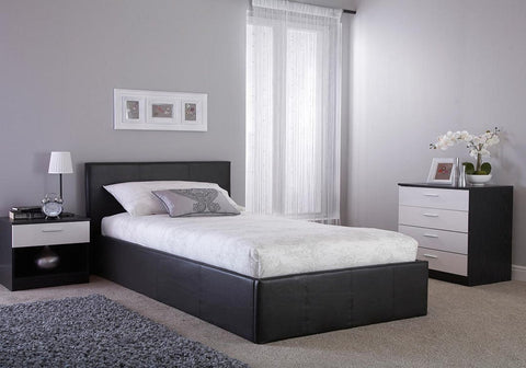 GFW Side Lift Ottoman Bed Single Size-Better Bed Company