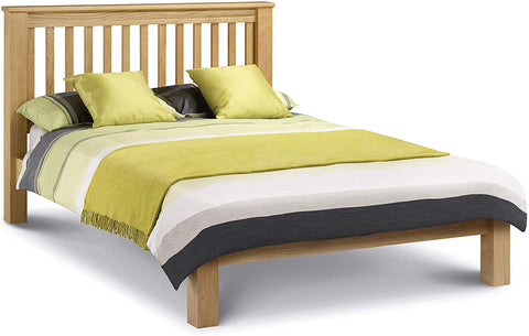 Wooden bed Frame With A Double Mattress