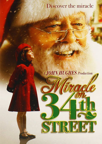 Miracle on 34th Street Movie Cover