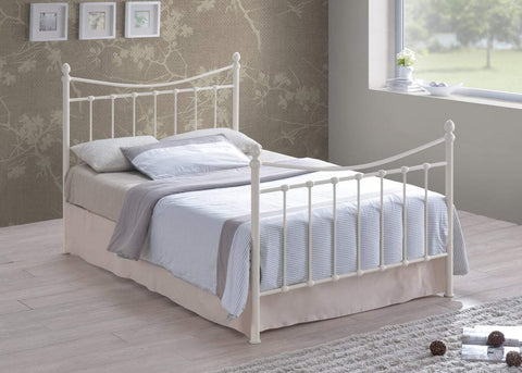 Alderley Ivory Small Double Bed Frame-Better Bed Company