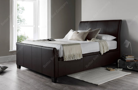 Leather Bed Frame-Better Bed Company