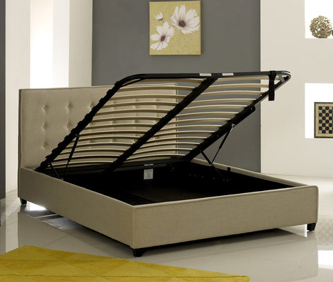 Ottoman Bed Base With Sprung Slats Showing-Better Bed Company