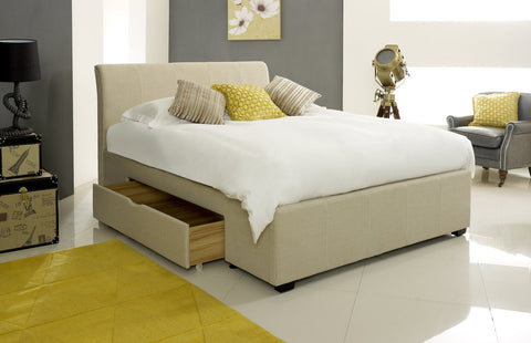 Arty Stone Fabric Bed-Better Bed Company
