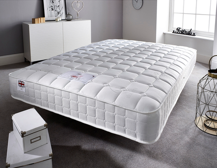 Small Double Cool Blue Memory Foam Mattress-Better Bed Company