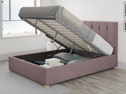 Aspire Furniture Pink Ottoman Bed-Better Bed Company