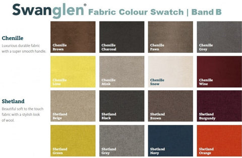 Swanglen Fabrc Swatches 2-Better Bed Company