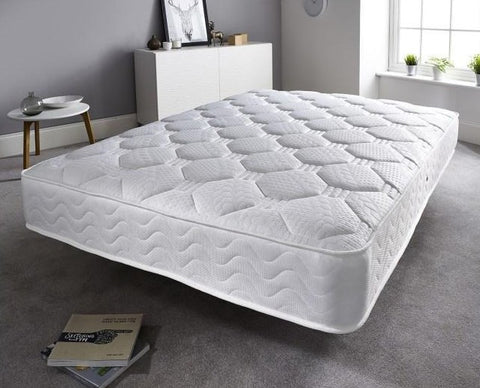 Double mattress with memory foam