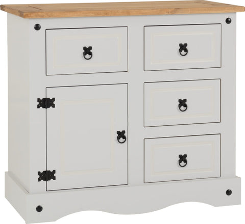 Grey And Pine Chest Of Draws