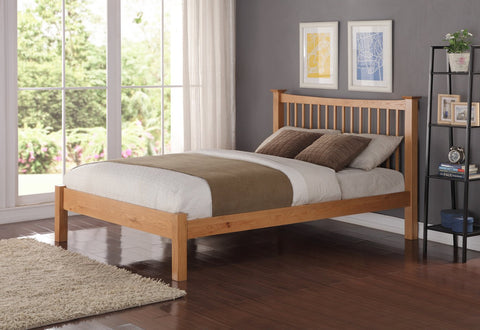 Flintshire Furniture Aston Oak Bed Frame-Better Bed Company