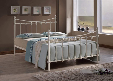 Small single metal bed frame